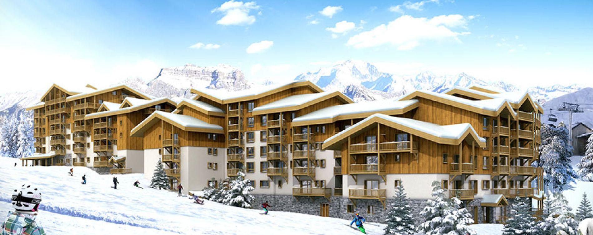 Mâcot-la-Plagne : programme immobilier neuve « Front de Neige » (2)