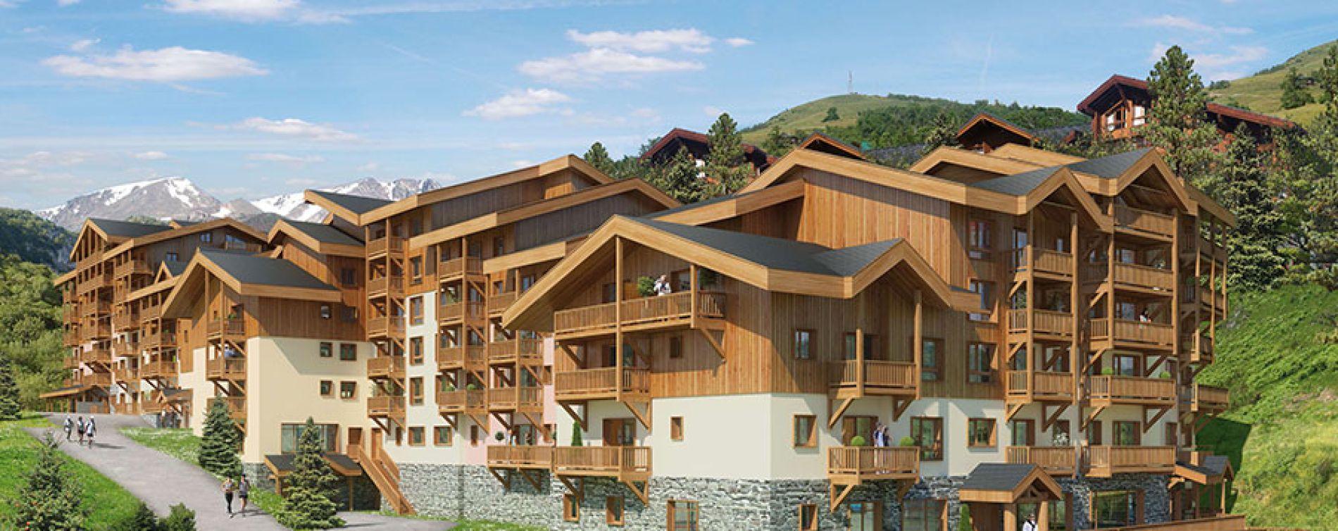 Mâcot-la-Plagne : programme immobilier neuve « Front de Neige » (3)