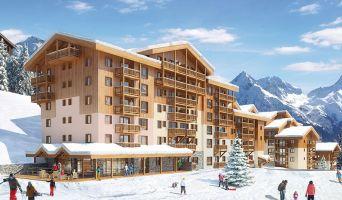 Mâcot-la-Plagne programme immobilier neuf « Front de Neige »