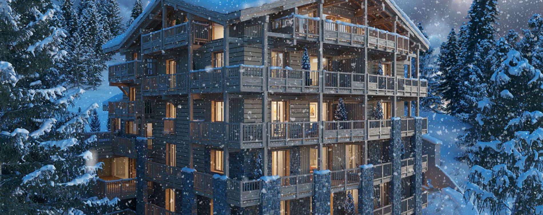 Montvalezan : programme immobilier neuve « Le Diamant des Cimes » (4)