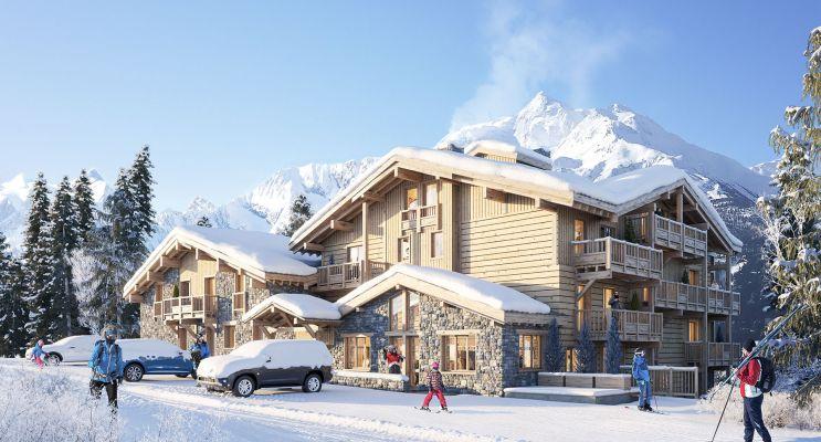 Photo du Résidence « Le Diamant des Cimes » programme immobilier neuf à Montvalezan