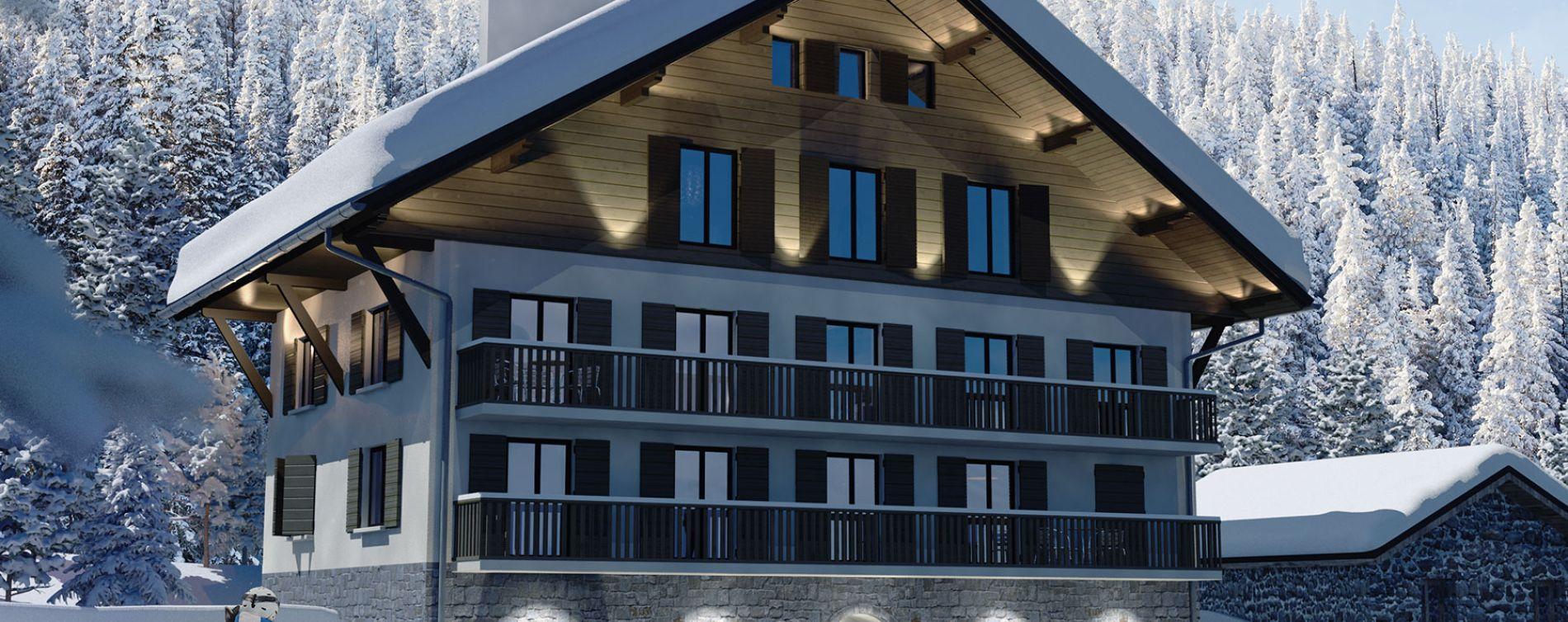 Orelle : programme immobilier neuve « Le Lodge »