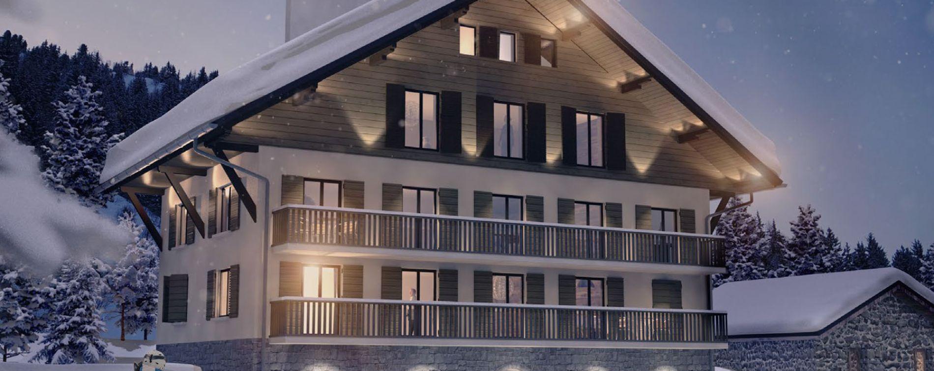 Orelle : programme immobilier neuve « Le Lodge » (2)