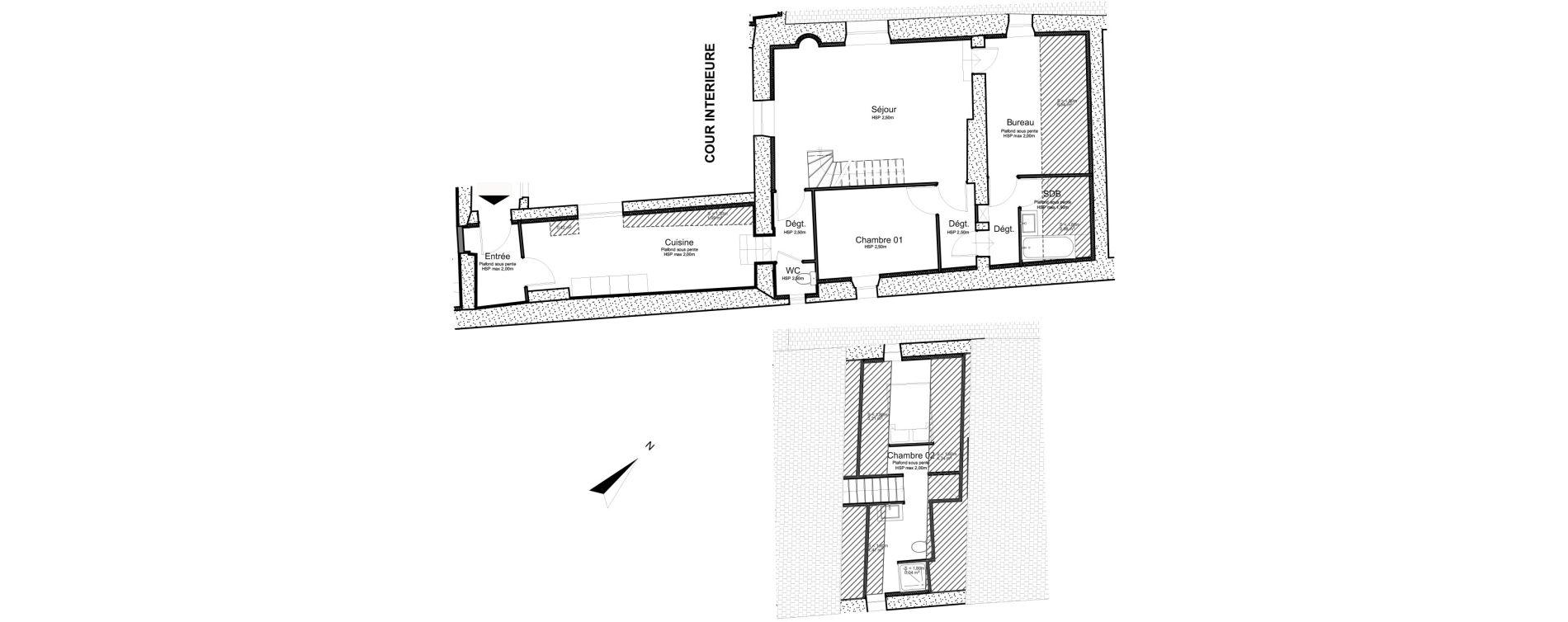 Appartement T3 de 86,74 m2 à Sonnaz Centre