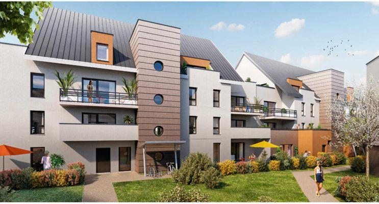 Résidence « Oblique » programme immobilier neuf en Loi Pinel à Chenôve n°2