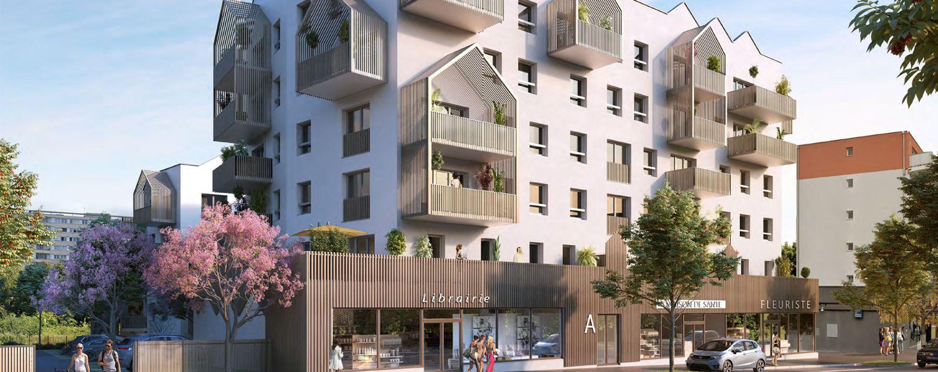 Chenôve : programme immobilier neuve « Plein Coeur »