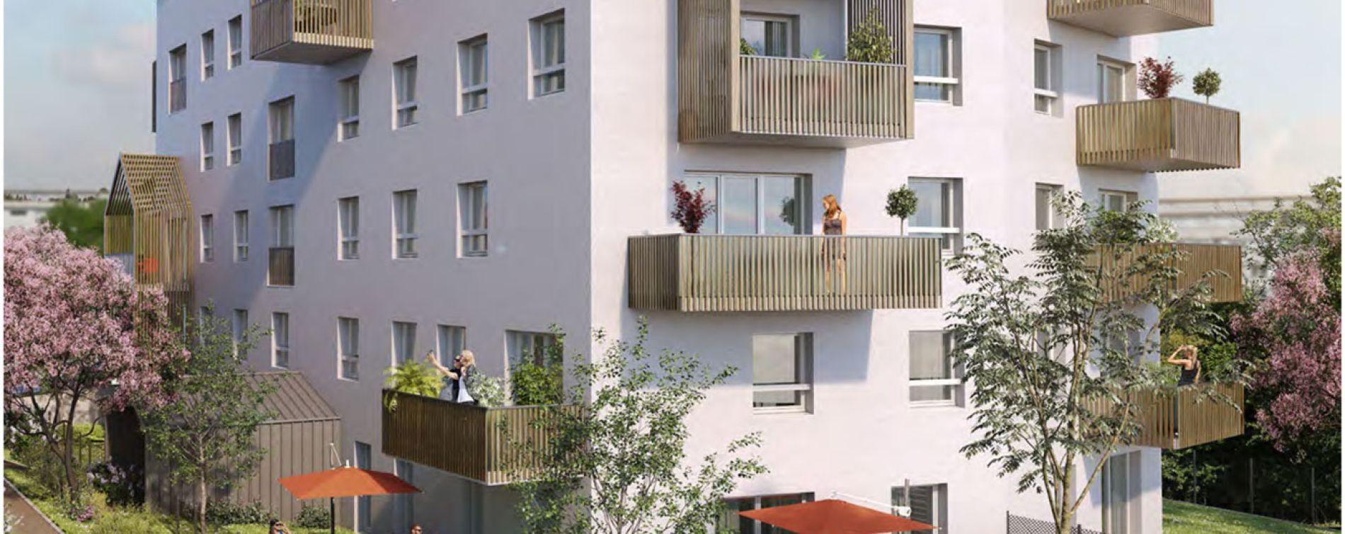 Chenôve : programme immobilier neuve « Plein Coeur » (2)