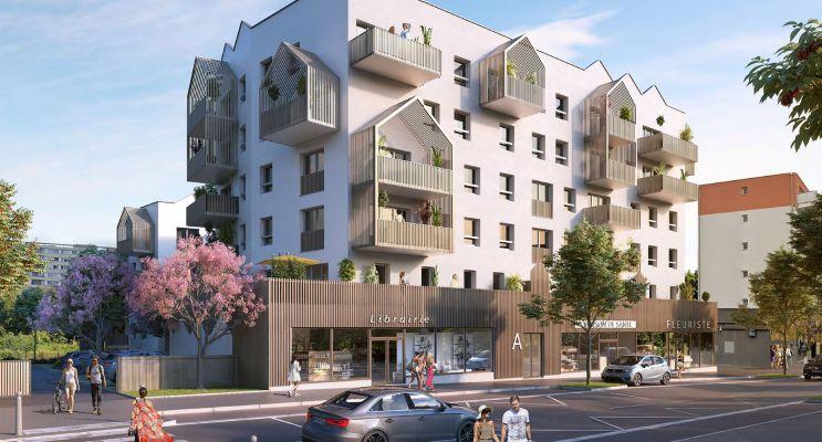 Chenôve : programme immobilier neuf « Plein Coeur » en Loi Pinel
