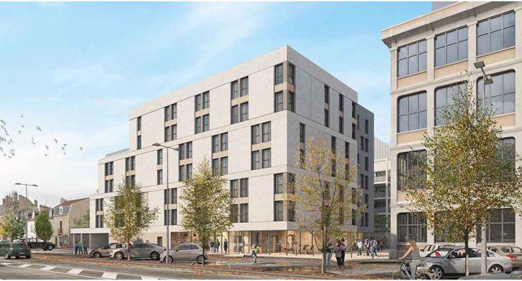 Dijon : programme immobilier neuf « 1887 Campus »
