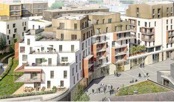 Dijon : programme immobilier neuf « AuthentiCité » en Loi Pinel