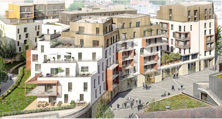 Photo du Résidence « AuthentiCité » programme immobilier neuf en Loi Pinel à Dijon