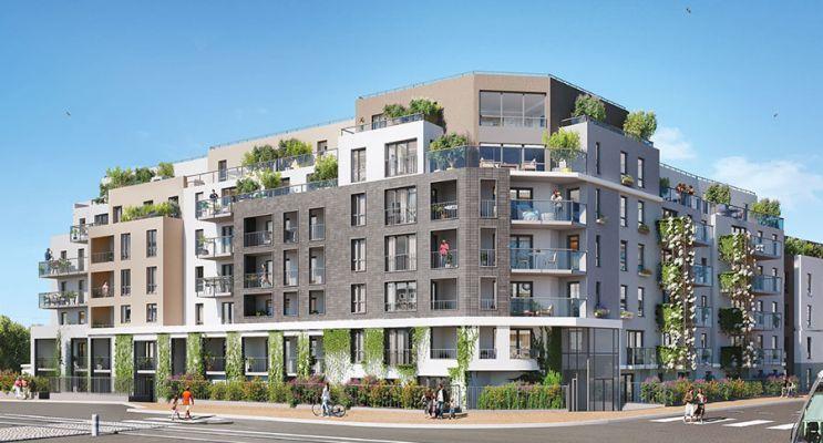 Résidence « Canal & Sens » programme immobilier neuf en Loi Pinel à Dijon n°1