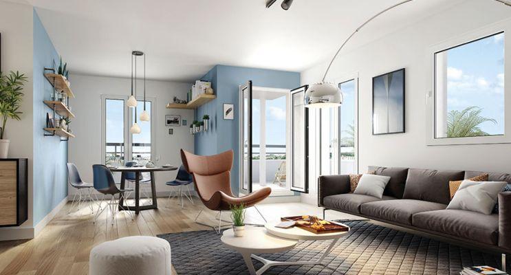 Résidence « Canal & Sens » programme immobilier neuf en Loi Pinel à Dijon n°3