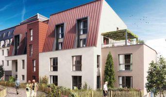 Résidence « Courtille Sainte-Marthe » programme immobilier neuf à Dijon n°1