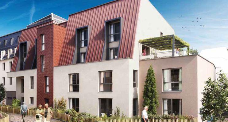 Dijon : programme immobilier neuf « Courtille Sainte-Marthe »