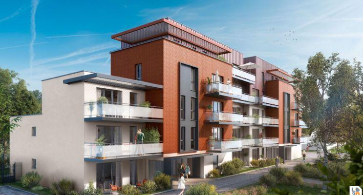 Photo du Résidence « Faubourg Sainte-Marthe » programme immobilier neuf en Loi Pinel à Dijon