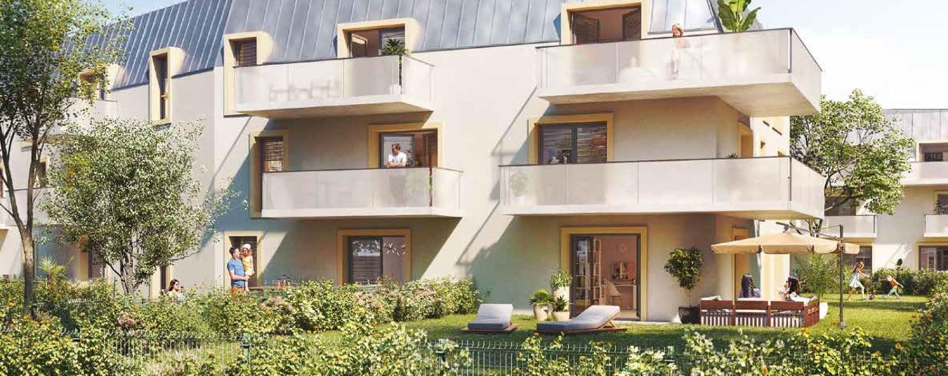 Dijon : programme immobilier neuve « Fenêtre sur Parc » en Loi Pinel (2)