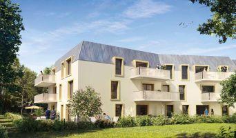 Dijon : programme immobilier neuf « Fenêtre sur Parc » en Loi Pinel