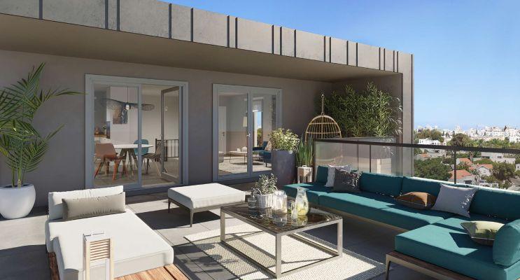 Dijon : programme immobilier neuf « Halle 12 » en Loi Pinel