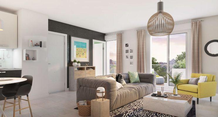 Photo du Résidence « IntenCité » programme immobilier neuf en Loi Pinel à Dijon