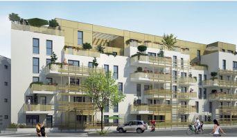 Dijon : programme immobilier neuf « Jardin Secret » en Loi Pinel