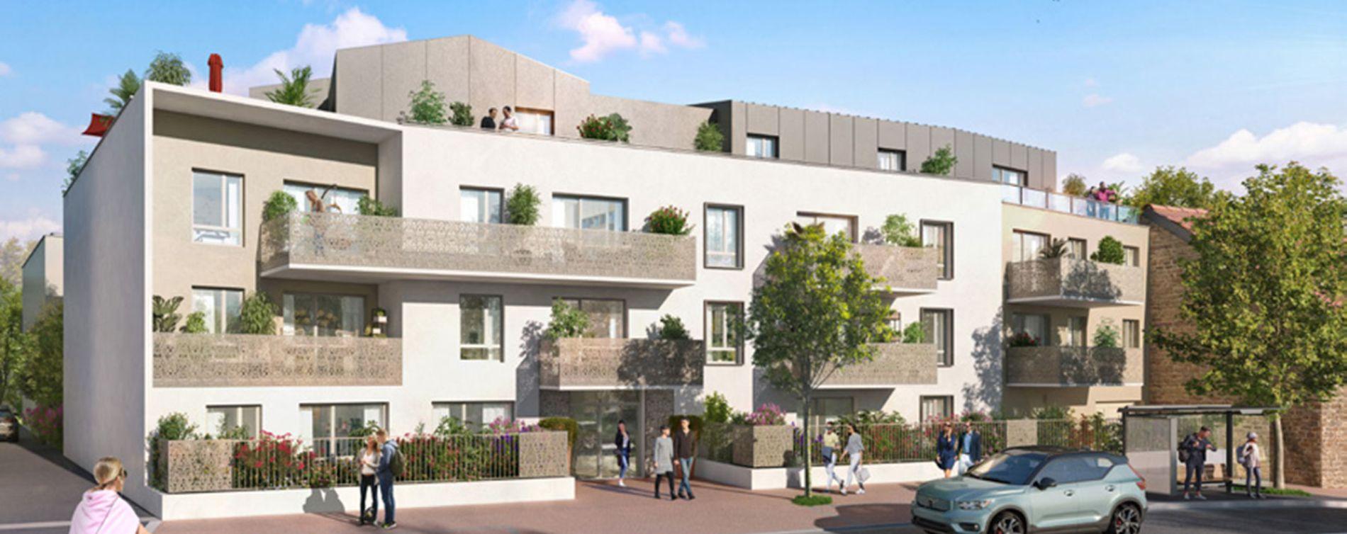 Dijon : programme immobilier neuve « La Croisée des Arts » en Loi Pinel