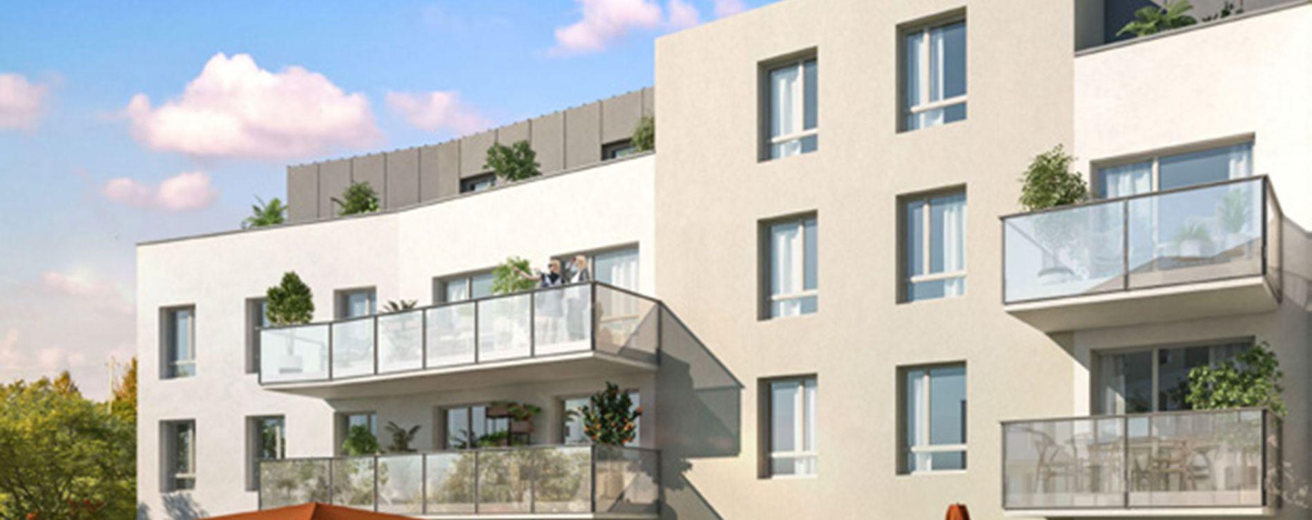 Dijon : programme immobilier neuve « La Croisée des Arts » en Loi Pinel (2)