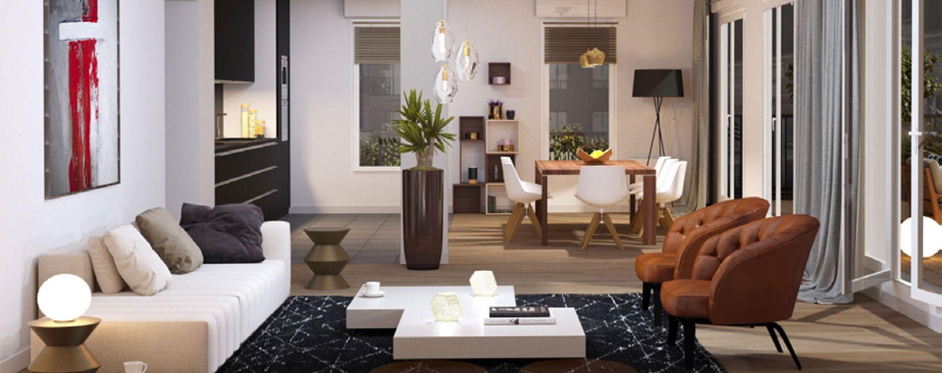 Dijon : programme immobilier neuve « La Croisée des Arts » en Loi Pinel (3)