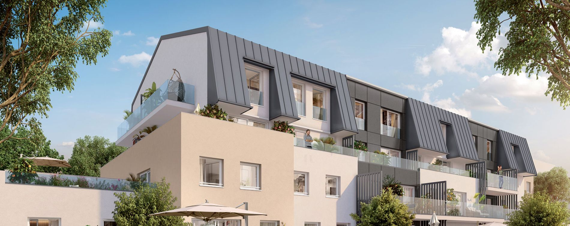 Dijon programme immobilier neuve « Latitude 87 » en Loi Pinel