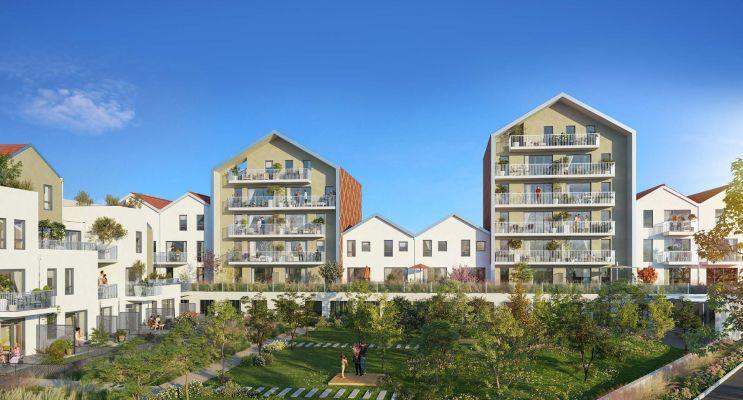 Dijon : programme immobilier neuf « Reflets Jardin » en Loi Pinel