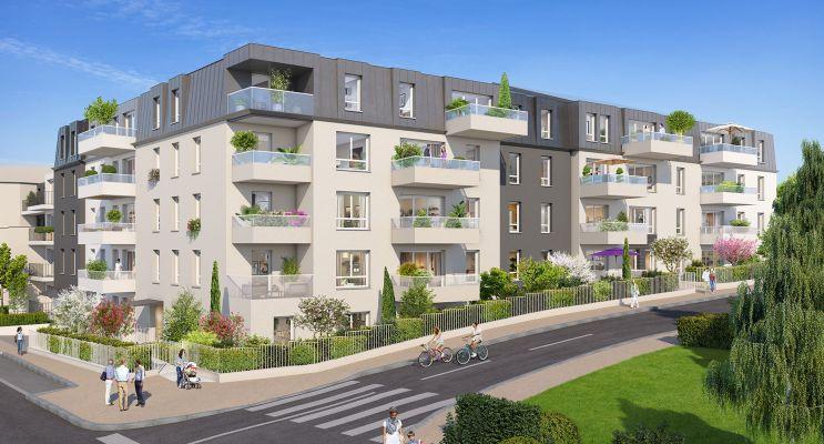Résidence « Reflets Mansart » programme immobilier neuf en Loi Pinel à Dijon n°1