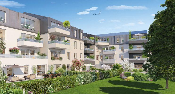 Résidence « Reflets Mansart » programme immobilier neuf en Loi Pinel à Dijon n°2