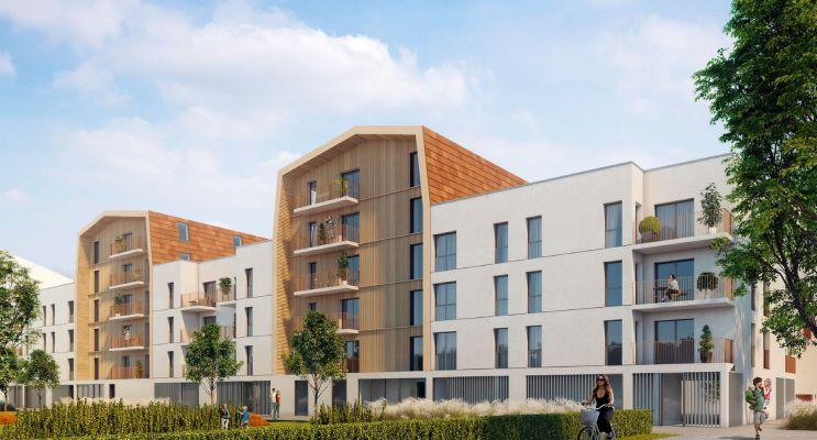Résidence « Villa Flore » programme immobilier neuf en Loi Pinel à Dijon n°1