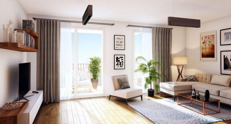 Résidence « Villa Flore » programme immobilier neuf en Loi Pinel à Dijon n°3