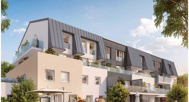 Photo du Résidence « Esprit Cottages » programme immobilier neuf à Quetigny