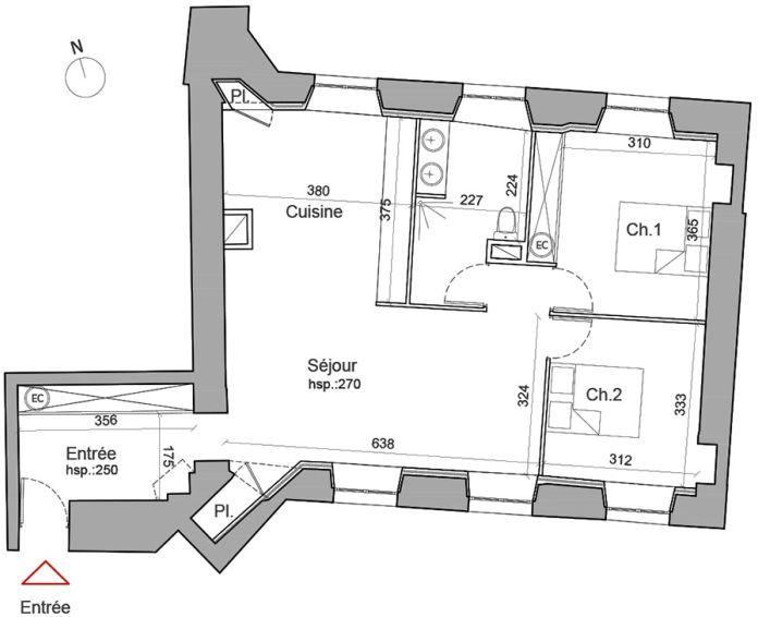 Plan T3 neuf à Besançon de