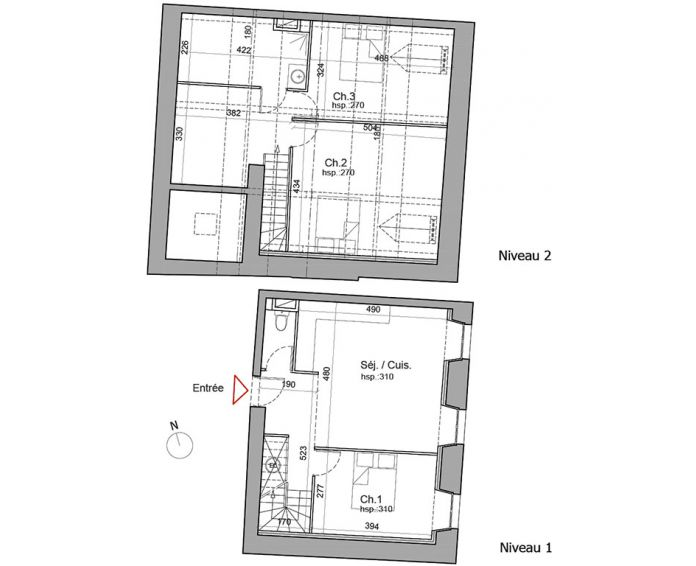 Plan T4 neuf à Besançon de