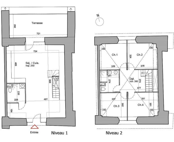 Plan T5 neuf à Besançon de