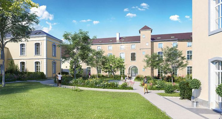Photo du Résidence « Domaine Saint-Louis » programme immobilier à rénover en Loi Malraux à Chalon-sur-Saône