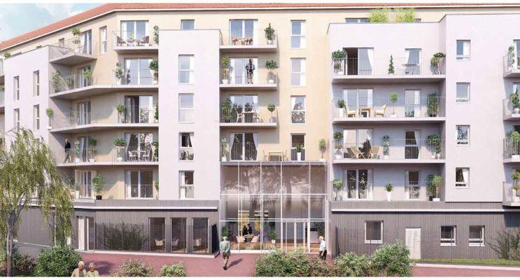 Chalon-sur-Saône : programme immobilier neuf « Les Séquanes »