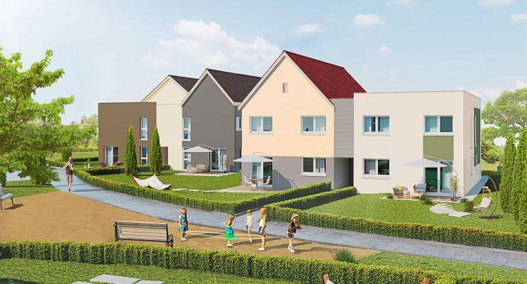 Photo du Résidence « Les Carrés d'Hortense » programme immobilier neuf à Châtenois-les-Forges