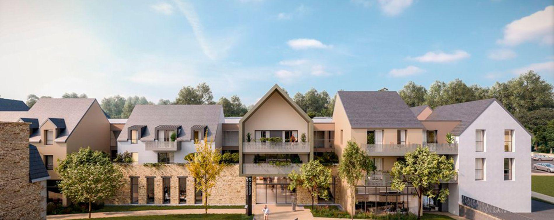 Dinan : programme immobilier neuve « Les Jardins d'Ahna »