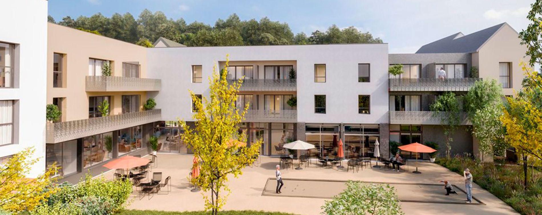 Dinan : programme immobilier neuve « Les Jardins d'Ahna » (2)