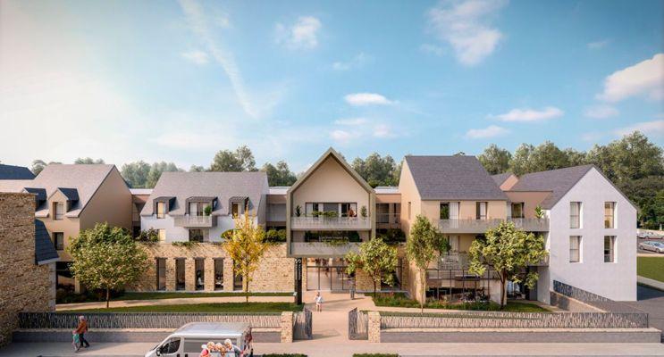 Photo du Résidence « Les Jardins d'Ahna » programme immobilier neuf à Dinan