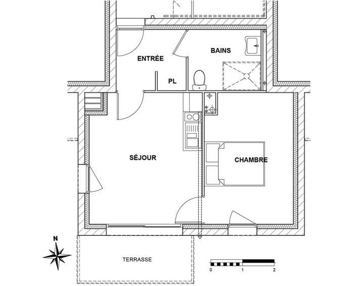Plan T2 neuf à Lannion de