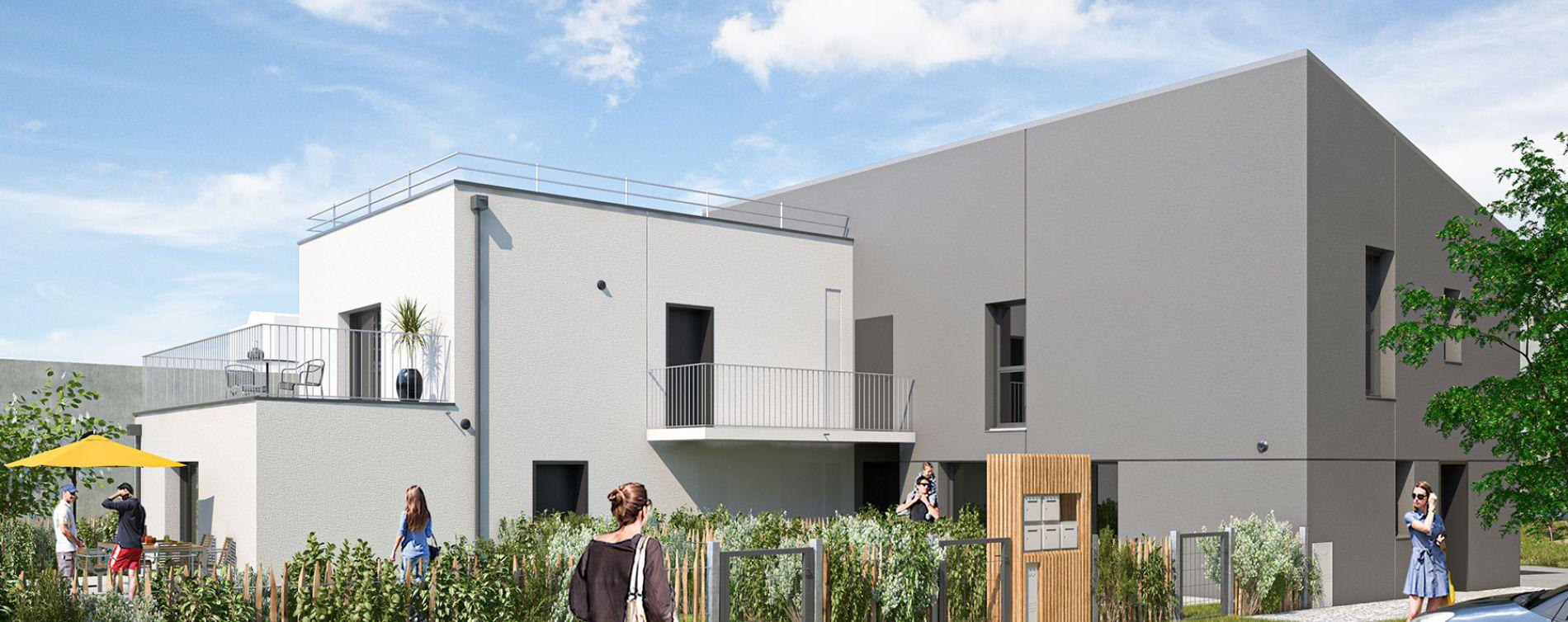Saint-Brieuc : programme immobilier neuve « Les Villes Dorées »