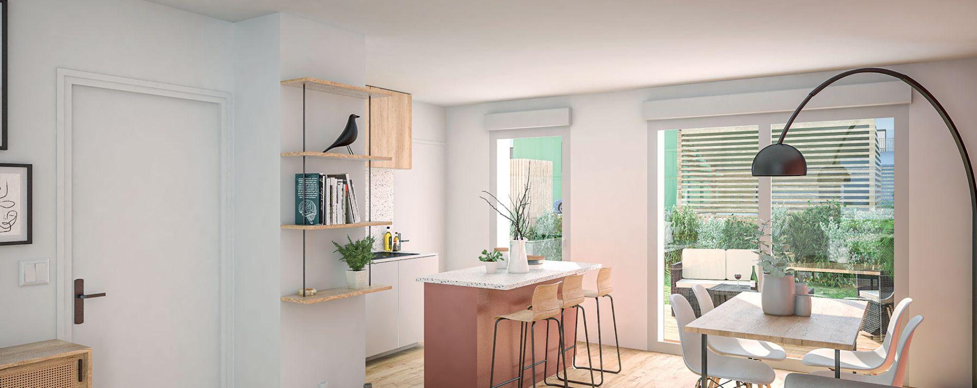 Saint-Brieuc : programme immobilier neuve « Les Villes Dorées » (3)