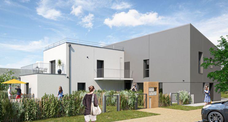Saint-Brieuc : programme immobilier neuf « Les Villes Dorées »