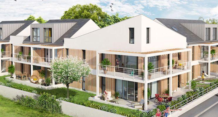 Photo du Résidence « Villa Margaux » programme immobilier neuf à Bénodet