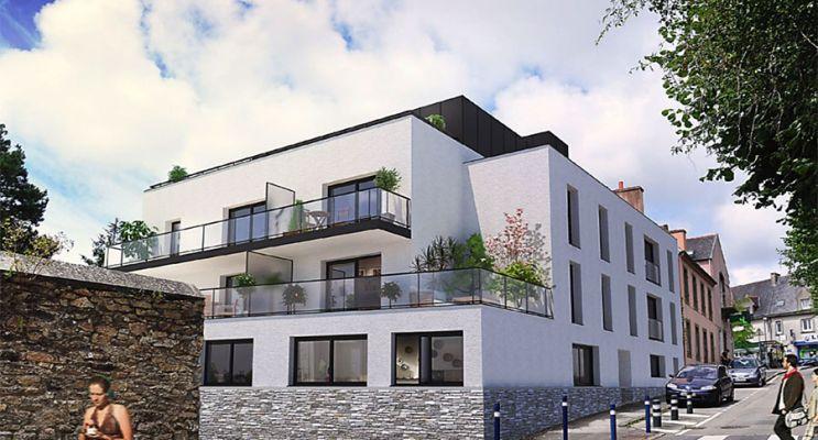 Photo du Résidence « Les Terrasses de Bohars » programme immobilier neuf à Bohars